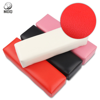 Armrest Nails Hand Pillow Equipment For Production Manicure Nails Pour Ongle Nail Cushion Pedicure PU Leather