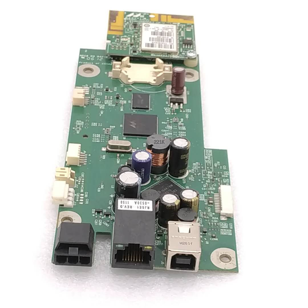 CB863-60013 MAIN BOARD FOR HP OfficeJet 6100 Wireless PRINTER WITH WIFI MODULE printer parts