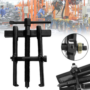 "Car Two Jaw Gear Pulley Bearing Puller Black Gear Puller Installation Remover Hand Tool 2"" 4"" 6"" Small Leg Large Mechanics(China)"