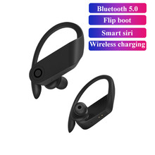 2019 new b10 Bluetooth earphone Wireless sports headset tws Earbuds 5.0 with wireless charging For all phone