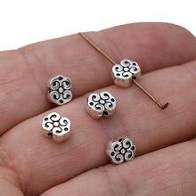 40 pçs antigo banhado a prata nuvem solta espaçador contas para fazer jóias colar pulseira acessórios diy brincos acessórios