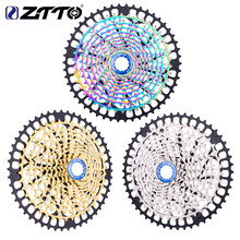 Ztto 11 velocidade bicicleta cassete 11-46t 50t mtb 11 s hg cubo de aço completo 11 velocidade k7 mountain bike roda livre roda dentada x01 gx m9000