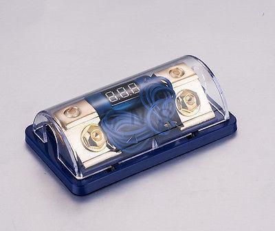 Цифровой Платиновый ANL DIST блок 0 4 калибра держатель предохранителя SKFH061G