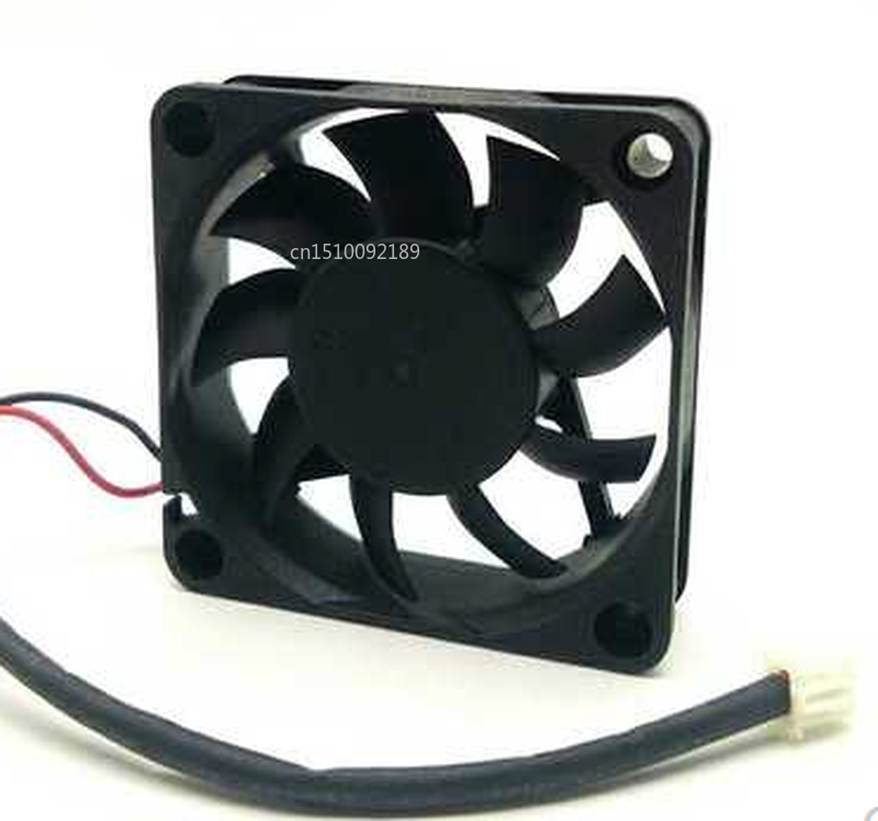 Free Shipping LC6015S 12V 14V 0.15A 60*60*15MM LONG 2 Wire Cooling Fan