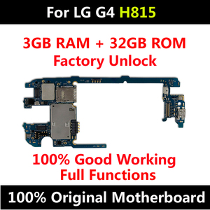 Image 2 - Factory Unlock Motherboard For LG G4 H815 32GB Original Mainboard Android OS For LG G4 H811 H818 H810 H812 Motherboard mainboard