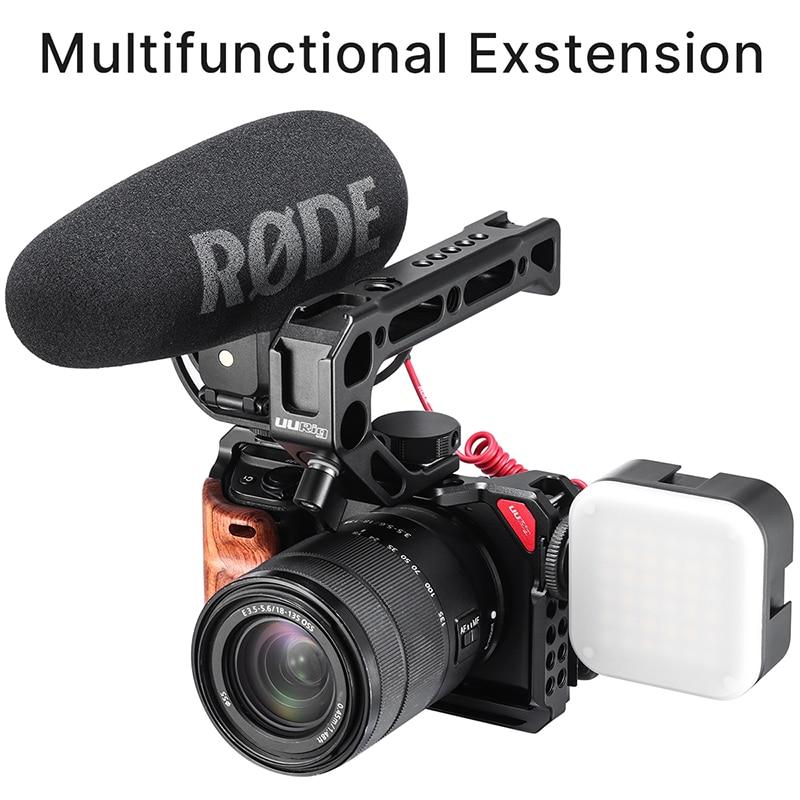UURig метална клетка за камера за Sony A6300 - Камера и снимка - Снимка 5