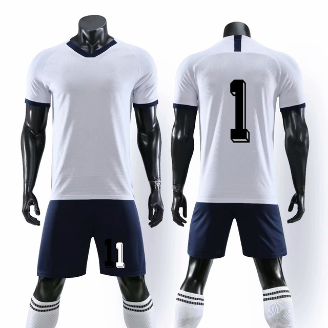 2019 New Men Kid Custom Football Sets Sport Training Soccer Jersey Team League Customize Soccer Uniform DIY Good Quality Kits