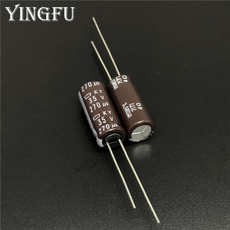 50pcs 100uF 50V 8x11.5mm NCC KY Low ESR  PC Motherboard Capacitor