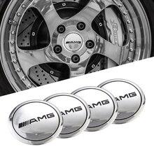 Decal Car-Wheel-Stickers Auto-Center-Hub W213 W204 W205 W210 W211 W220 Amg W203 W214