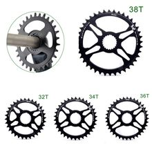 Ciclismo corrente anel mtb liga de alumínio 30t/32t/34t/36t/38t leve chainring para 12 velocidades m7100 8100 9100 preto