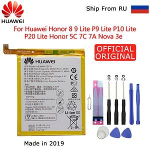 Image 1 - Huawei için yedek telefon pil Huawei P9 P10 Lite onur 8 9 Lite 9i 5C 7C 7A Enjoy 7S 8 8E Nova Lite 3E GT3 HB366481ECW