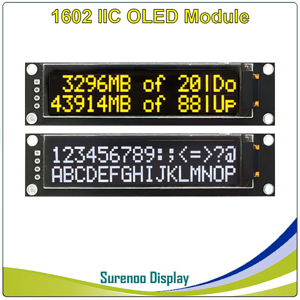 Real OLED Display, 2.26