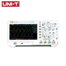 UNI-T UPO2104CS Ultra Phosphor Oscilloscope 4 Channels 100 MHz Bandwidth 1GSa/S 50,000wfms/s Memory Depth 32Mpts USB Interface hantek dso5102p digital oscilloscope portable 100mhz 2channels 1gsa s record length 40k usb lcd handheld osciloscopio 7 inch