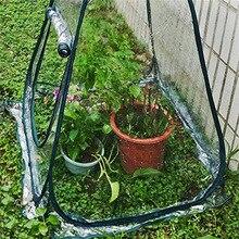 Pop up Greenhouse Small Indoor Outdoor Gardening Flowerpot Cover Backyard Flower Shelter Home gardening supplies gift