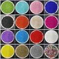 1000 шт., 2 мм, бусины-разделители из чешского стекла для самостоятельного изготовления браслетов, ожерелий, украшений