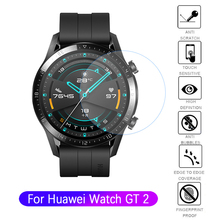 Screen-Protector Smartwatch Verge Huawei Proof-Film Full-Tempered-Protective-Glass GT2