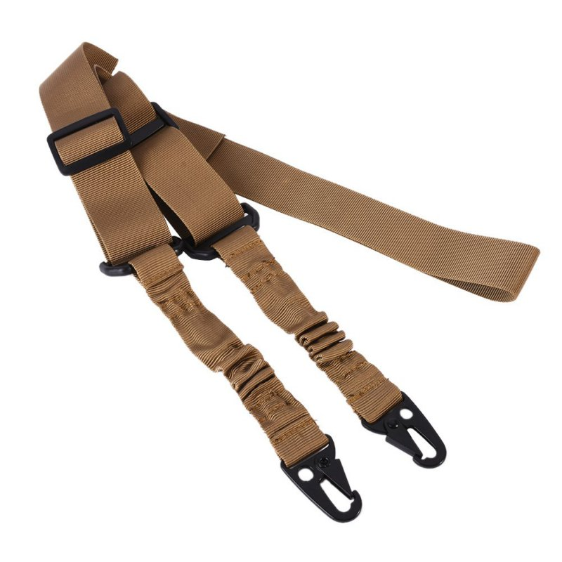 Tactical 1/2 Point Gun Sling Shoulder Strap Outdoor Rifle Sling With QD Metal Buckle Belt Hunting Gun Accessories Tactical