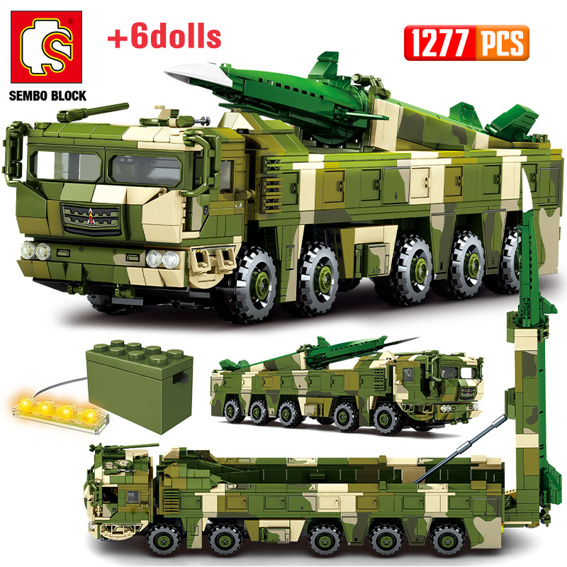 SEMBO Hypersonic Ballistic Missile Trucks