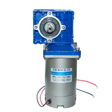 Super High Torque DC Gear Motor with 030 Gearbox DC 12V 24V 90V 220V 120W 22-240Rpm DC Permanent Magnet Motor with Gearbox planetary gearbox ratio 10 1 with nema 23 120w brushless dc motor gear bldc motor
