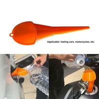 1PC Portable Plastic oil funnel Car Vehicle Motorcycle funnel Engine Oil Water Fuel Gas Petrol Long Mouth Funnel Car Accessories| |   -