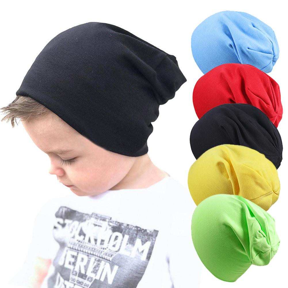 Baby Street Dance Hip Hop Hat Spring Autumn Baby Hat Scarf For Boys Girls Knitted Cap Winter Warm Solid Color Children Hat