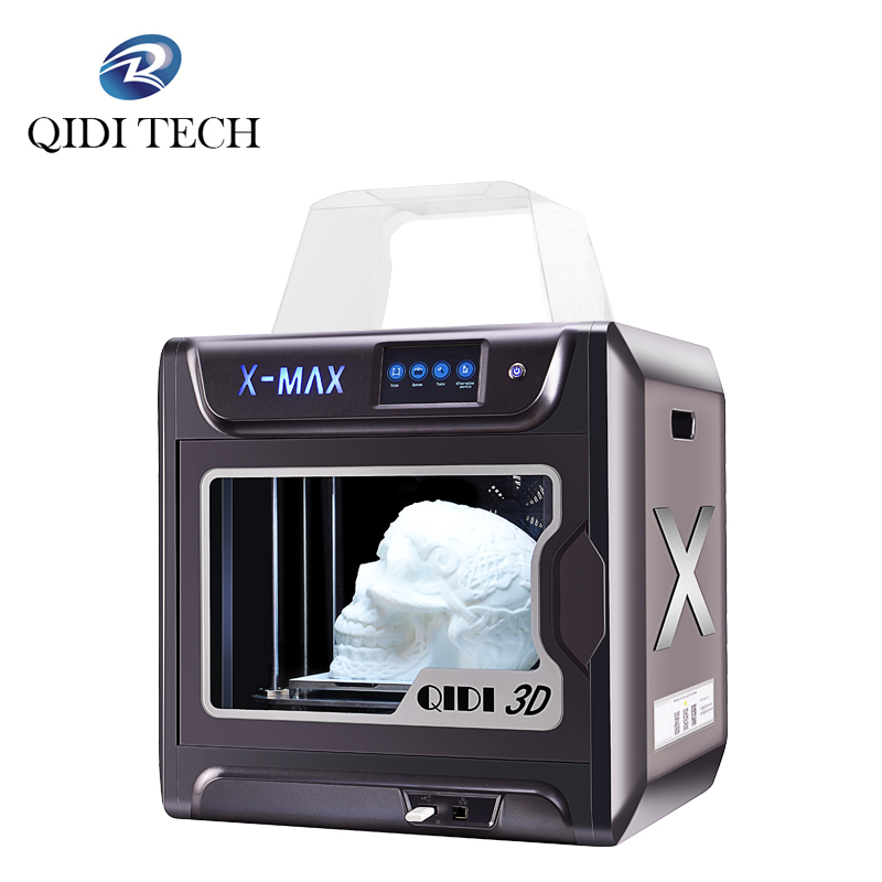 QIDI TECH 3D Printer X-MAX Large Size Industrial WiFi High Precision Printing With PLA TPU PC PETG Nylon 300*250*300mm