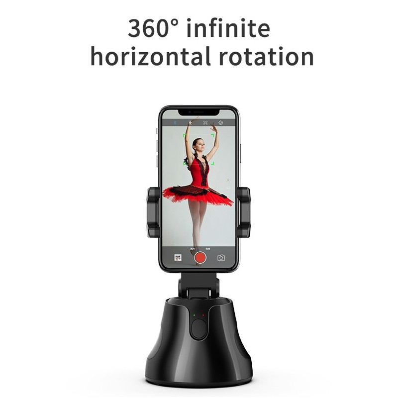 360° Selfie Shooting Gimbal With Tripod Face Object Tracking Selfie Stick For Smartphone Camera For Vlog Live Photo Video 4