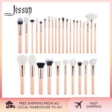 Набор кистей для макияжа Jessup, 30 шт., косметические инструменты, наборы для макияжа, кисть для пудры, основы, теней, румян