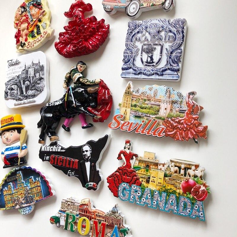 Kühlschrankmagnet Sevilla Torre del Oro Fridge Sticker Aufkleber Souvenir Magnet