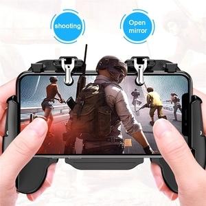 Image 3 - טלפון נייד Cooler Pubg בקר Gamepad בקר Shooter בקר אוהד אילם Gamepad ג ויסטיק Joypad נייד