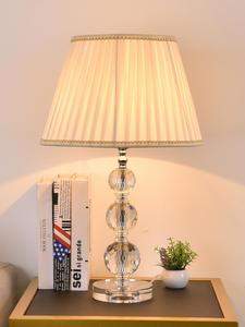 TUDA Table-Lamps Crystal Beside-Room Indoor-Lighting Diamond E27 for 3-Balls Cutting