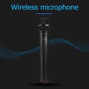 Image 4 - ワイヤレスマイクメガホンハンドヘルドマイク用のusbレシーバーとカラオケ音声スピーカーオーディオマイクマイクキット