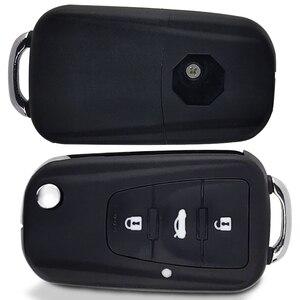 OkeyTech 3 кнопки дистанционный Складной автомобильный ключ оболочки для нового пульт mg GS Roewe MG7 GT GS 350 360 750 W5 пустой чехол с отверткой