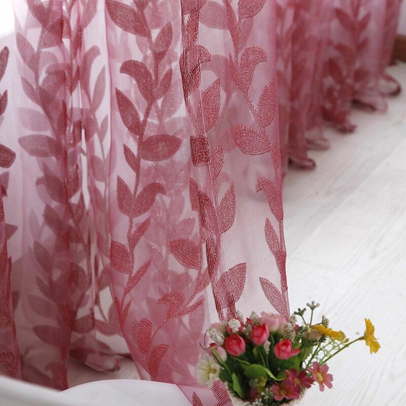 5-1 м х 2 м двери окна шарф прозрачные листья напечатанные занавески драпировка панель тюль вуаль подзоры смотреть на Алиэкспресс Иркутск в рублях