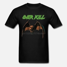 T-Shirt Black Short Sleeve1 S-3xl-Printing Fashion Casual Overkill-Feel Tees Fire The