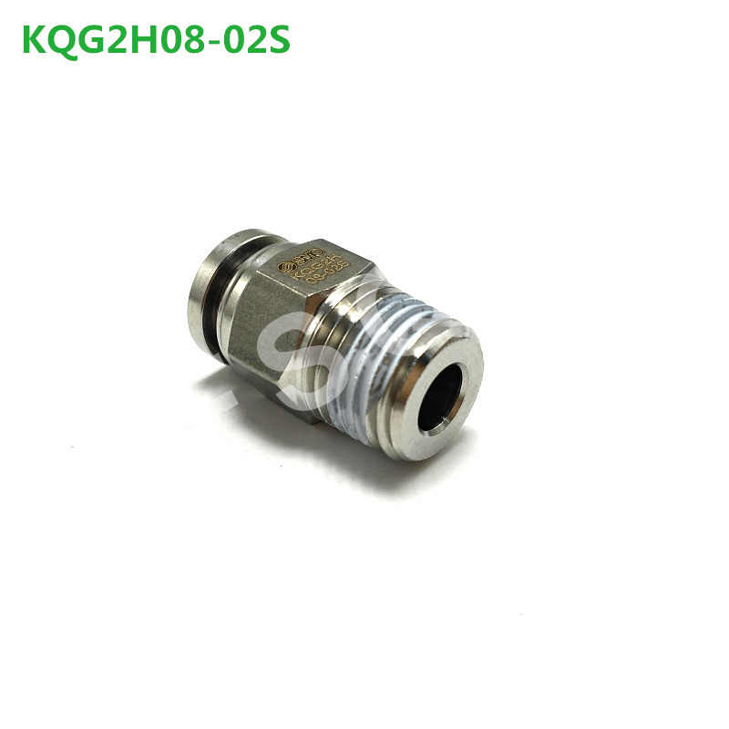 KQG2H06-02S KQG2H08-02S KQG2H10-02S KQG2H12-02S FSQD SMC paslanmaz çelik bağlantı parçaları pnömatik KQG2H serisi