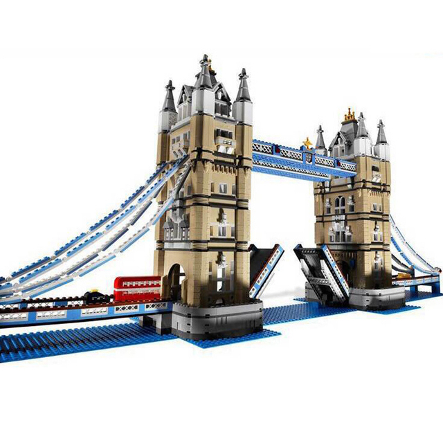 20202 IN STOCK DHL Creator Expert London Tower Bridge Model Building Blocks Bricks Toys Gift Compatible 17004 10214