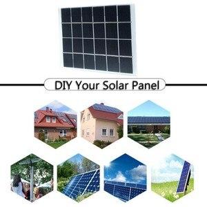 Image 4 - 2W 6V Mini güneş paneli pili güç modülü 350mah pil hücresi telefon şarj ışığı DIY güneş oyuncaklar