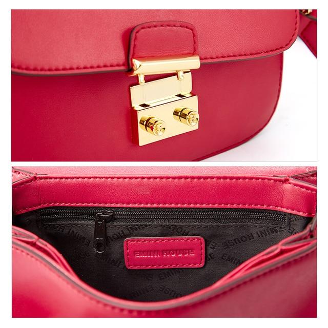 Mini casa clássico cadeado aleta sacos de couro rachado bolsa de ombro feminina crossbody sacos para mulheres de alta qualidade saco do mensageiro 4