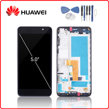 HUAWEI Original Honor 6 LCD Display Touch Screen Digitizer For Huawei Honor6 Display with Frame H60-L02 H60-L12 H60-L04 + Tools 100% tested original 5 inch black white 1920x1080 tft display for huawei honor 6 lcd touch screen with frame h60 l12 h60 l04 fre