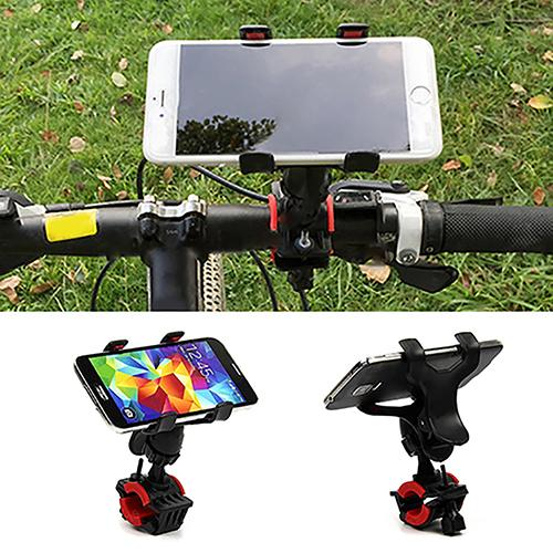 360 Degree Rotation Mobile Phone Holder Stands For Bicycle Motorcycle Metal Mountain Bike Road Bike Phone Holder Fixed Bracket