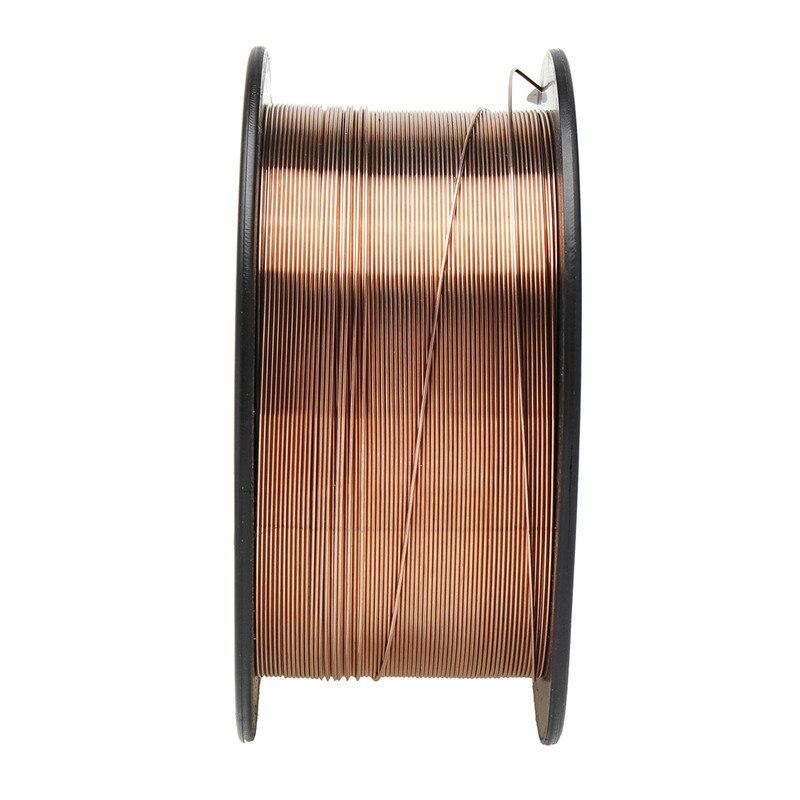 0.6/0.8/0.9/1.0/1.2mm 1KG Carbon Steel Gas Shielded Welding Wire Mild Steel ER70S-6 / ER50-6 MIG Carbon Steel Welding Wires