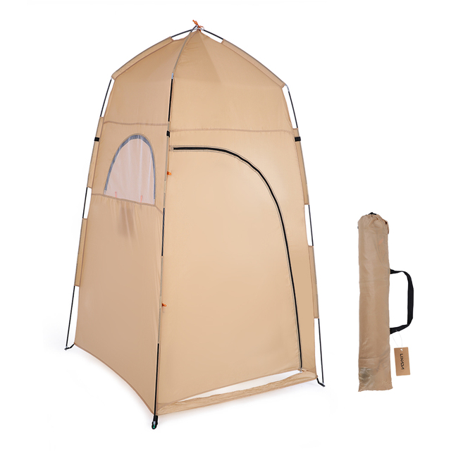 Tomshoo portable outdoor shower bath changing fitting room camping tent shelter beach privacy toilet tent camping equipment