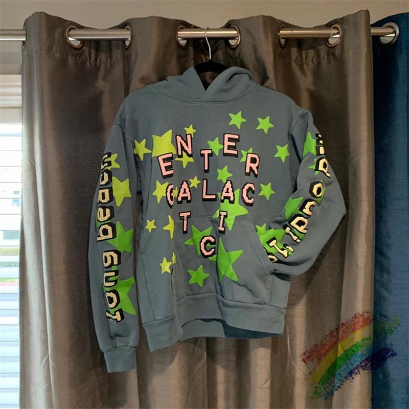 Reflective Cactus Plant Flea Market Kid Cudi Enter Galactic Hoodie Hooded Men Women 1:1 Best-Quality CPFM.XYZ Pullover