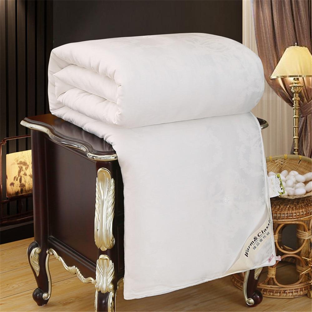 Купить 100% шелковое одеяло sondeson с наполнителем натуральный шелк