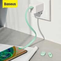 Зарядный кабель Baseus, usb type C, портативный кабель для быстрой зарядки и передачи данных