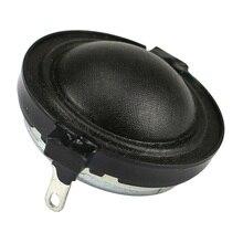 Hifi Tweeter Speaker Unit 1inch Portable Treble Loudspeaker Repair Parts For Home Audio Diy 4/8ohm 10W Dome Silk Film Neodymium