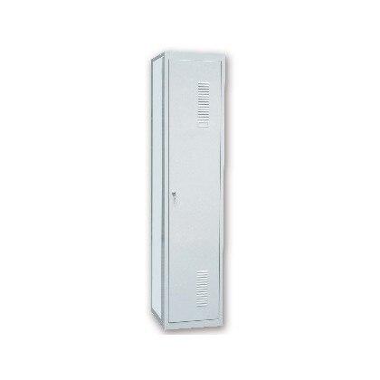 BOX OFFICE METALICA AR STORAGE 50X180X30 CM 1 DOOR WITH KEY COLOR GREY CONTINUACION