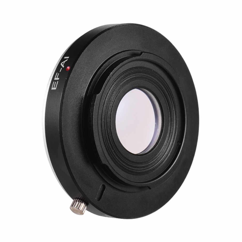 EF-AI Lens adaptörü halka manuel odak Canon EF EF-S Lens için Nikon AI F dağı SLR kamera için nikon D3500 D5600 D610