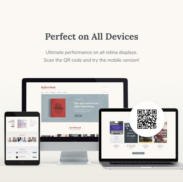 Printpress - 印刷出版社WordPress主题